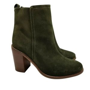 Seychelles Anthropologie Lounge Boots Sz 8.5 Suede
